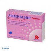 Препарат:  Ломексин капсулы вагинальные 600 мг №1