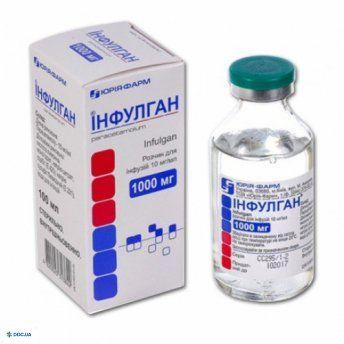 Инфулган раствор для инфузий 10 мг/мл бутылка 100 мл, №1