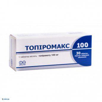 Топиромакс таблетки, 100 мг №30