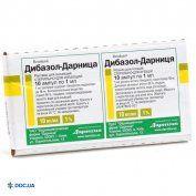 Препарат: Дибазол раствор для инъекций 1 % ампула 1 мл, №10