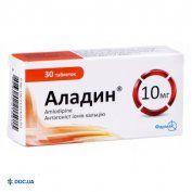 Препарат: Аладин-Фармак таблетки 10 мг №30