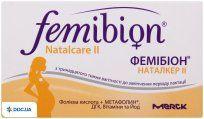 Препарат: Фемибион Наталкер II комби-упаковка таблетки №30