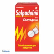 Препарат: Солпадеин растворимые таблетки № 12 (К)
