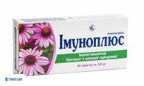 Препарат: Иммуноплюс таблетки 100 мг №20