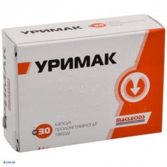 Уримак капсулы 0,4 мг №30