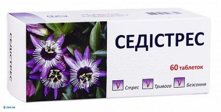 Седистресс таблетки №60
