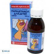Препарат: Парацетамол сироп Бо флакон 50 мл, №1