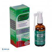 Препарат: Ангилекс-здоровье спрей для ротовой полости баллон 30 мл