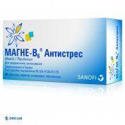 Препарат:  Магне-В6 Антистресс таблетки №60