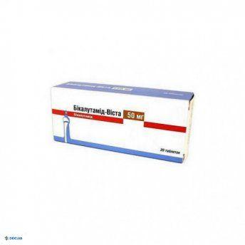 Бикалутамид-Виста таблетки 50 мг, №30