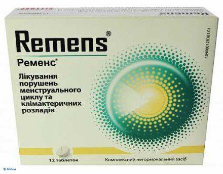 Ременс таблетки №12
