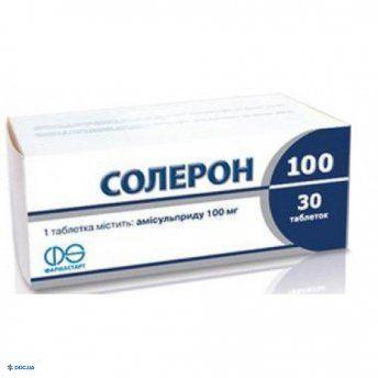 Солерон таблетки 100 мг №30