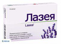 Препарат: Лазея капсулы 80 мг блистер, №14