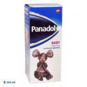Препарат:  Панадол Беби суспензия оральная 120 мг/5 мл флакон 100 мл