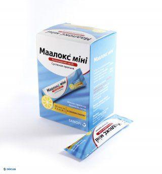 Маалокс мини суспензия оральная пакет 4,3 мл, №20