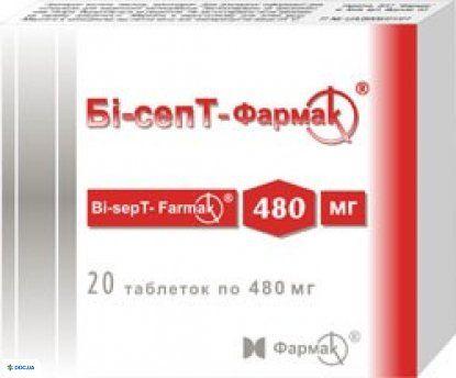 Би-септ-Фармак таблетки 480мг №20