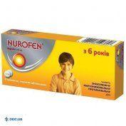 Препарат: Нурофен таблетки 200 мг, №8