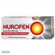 Препарат: Нурофен таблетки 200 мг №12