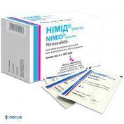Препарат: Нимид 100 мг/2г саше №30