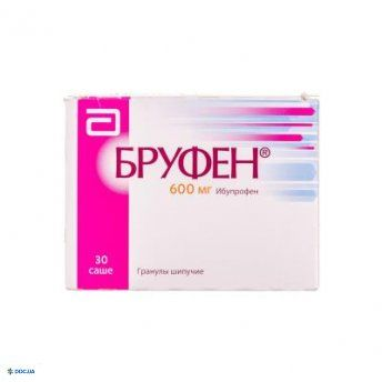 Бруфен гранулы шипучие 600 мг №30