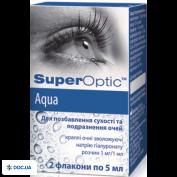Препарат: СуперОптик аква капли глазные флакон 5 мл, №2