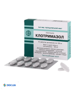 Препарат: Клотримазол таблетки вагинальные 100 мг №10 БХФЗ