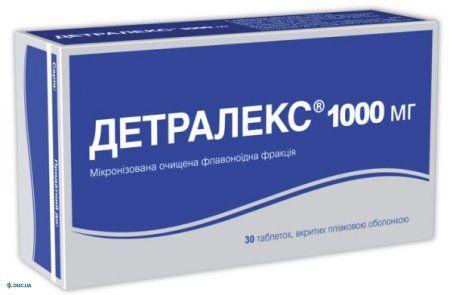 Детралекс таблетки 1000 мг №30