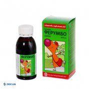 Препарат: Ферумбо сироп 50 мг/5мл 100 мл