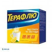 Препарат: ТераФлю порошок для приготовления раствора №10