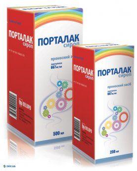 Порталак  сироп 667 мг/мл флакон 250 мл, №1