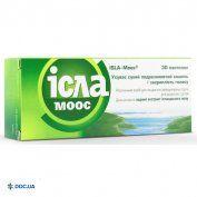 Препарат: Исла-моос пастилки 80 мг №30