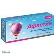 Препарат: Афлетин капсулы 125 мг №20