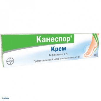 Канеспор крем 1 % туба 15 г, №1