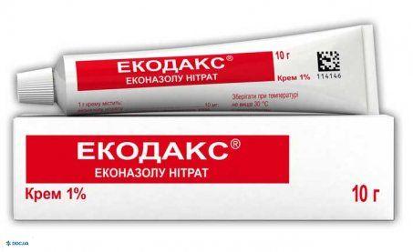 Экодакс крем 1 % 10 г