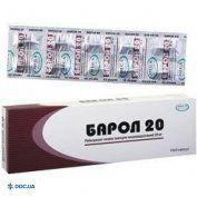 Препарат: Барол капсулы 20 мг №30