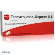 Препарат: Сертаконазол-Фармекс пессарии 0,3 г №1