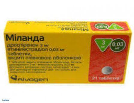 Миланда таблетки №21