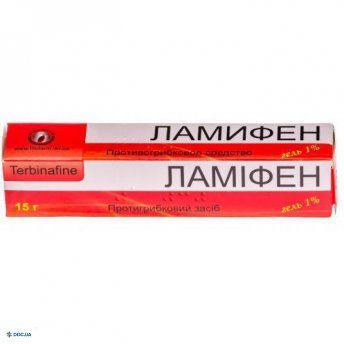 Ламифен гель 1 % 15 г