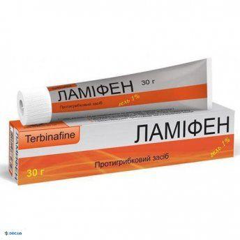 Ламифен гель 1 % 30 г