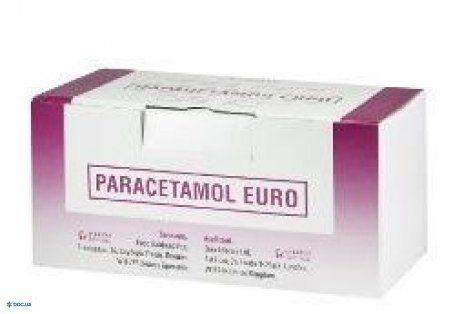 Парацетамол евро р-р д/инф. 10 мг/мл контейнер 100 мл, №12