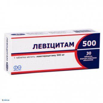 Левицитам таблетки 500 мг №30