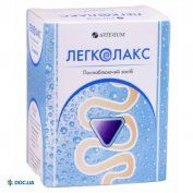 Препарат: Легколакс порошок для орального раствора 4 г пакет-саше №10