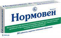 Препарат: Нормовен таблетки N30