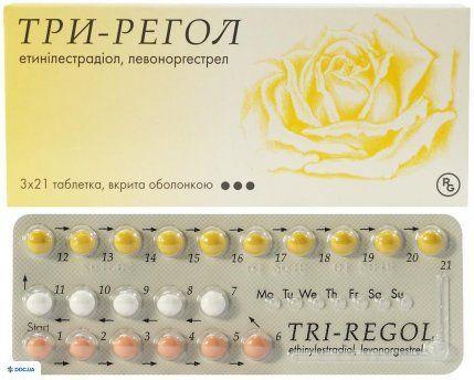 Три-регол таблетки №21x3