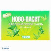 Препарат: Ново-пассит таблетки, №10