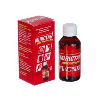 Милистан сироп от кашля (milistan cough sirup) сироп флакон 100 мл, с мерной ложкой, №1
