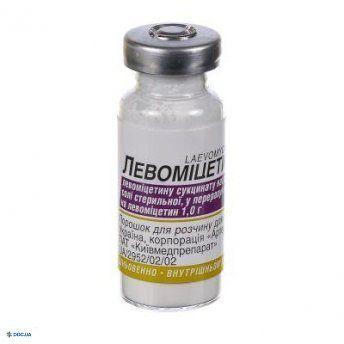 Левомицетин порошок 1г
