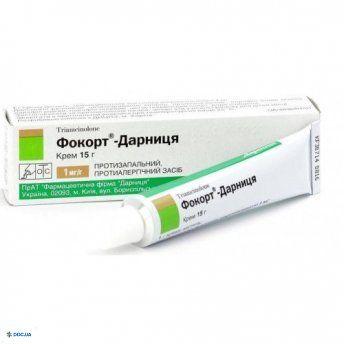 Фокорт-Дарница крем 15 г