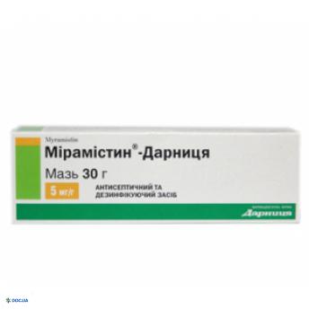 Мирамистин-Дарница мазь 30 г