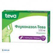 Препарат: Флуконазол-Тева капсулы 150 мг №1
